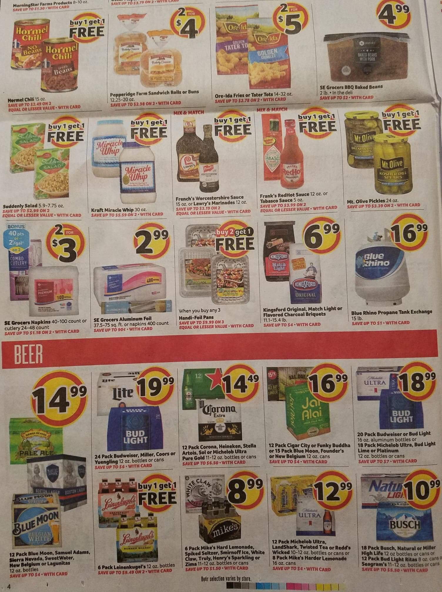Winn Dixie AD Scan! 8/29 - 9/4 ⋆ Page 13 of 20 ⋆ Coupon Confidants