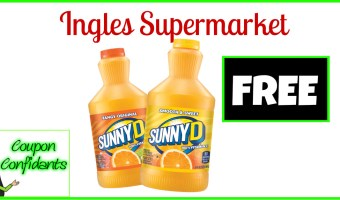 FREE SunnyD at Ingles Supermarkets!