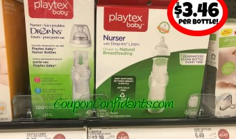 Baby Bottles $3.46 each at Target!!
