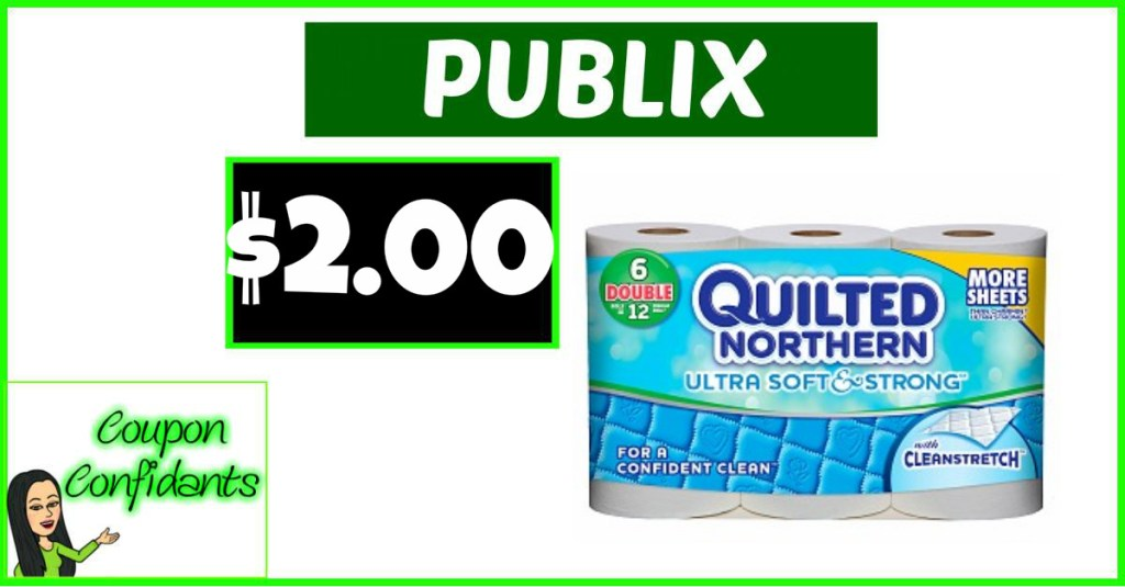 Quilted Northern only $2 at Publix!!
