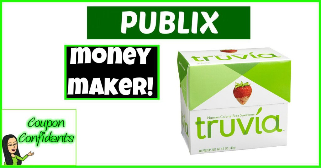 FREE Plus Money Maker Truvia at Publix!!