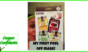 A little pampering goes a long way! Peel Off Mask!