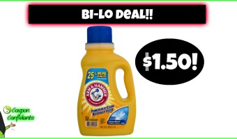 YES!! Arm & Hammer Laundry Detergent $1.50 at Bi-lo!!
