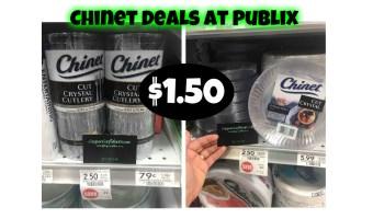 Chinet Deals LIVE at Publix!