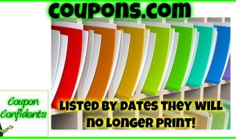 Coupons Ending Soon – Listed by End date!~