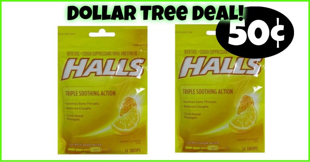 Cough Drops 50¢ at Dollar Tree!