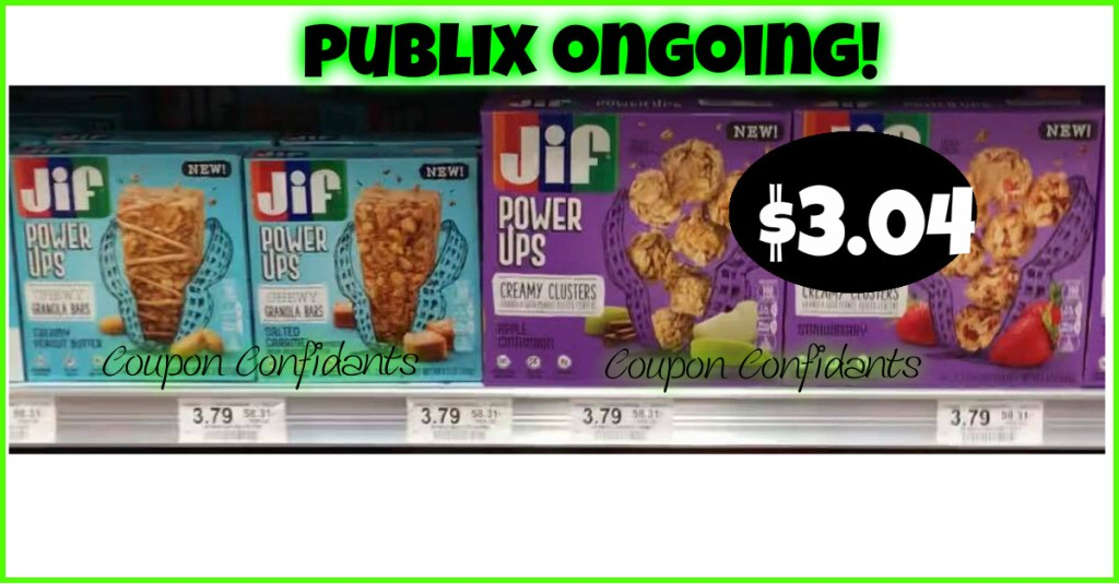 Try the NEW Jif Power Ups at Publix!