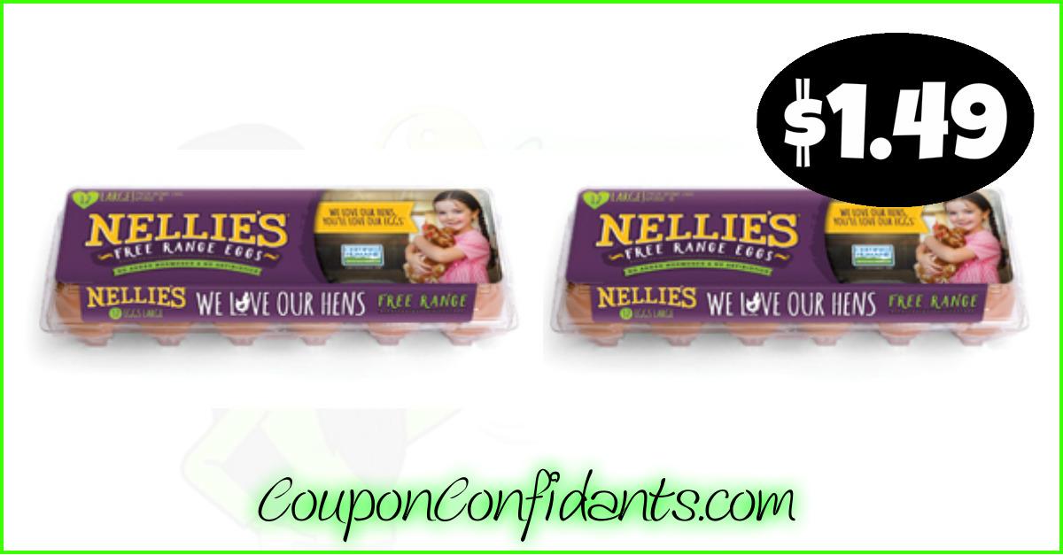 graphic regarding Winn Dixie Printable Coupons identified as Nellies eggs $1.49 at Winn Dixie and Bilo! ⋆ Coupon Confidants