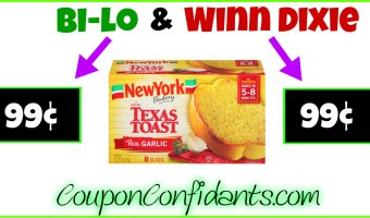 New York Garlic Breads for CHEAP at Winn Dixie and Bilo!
