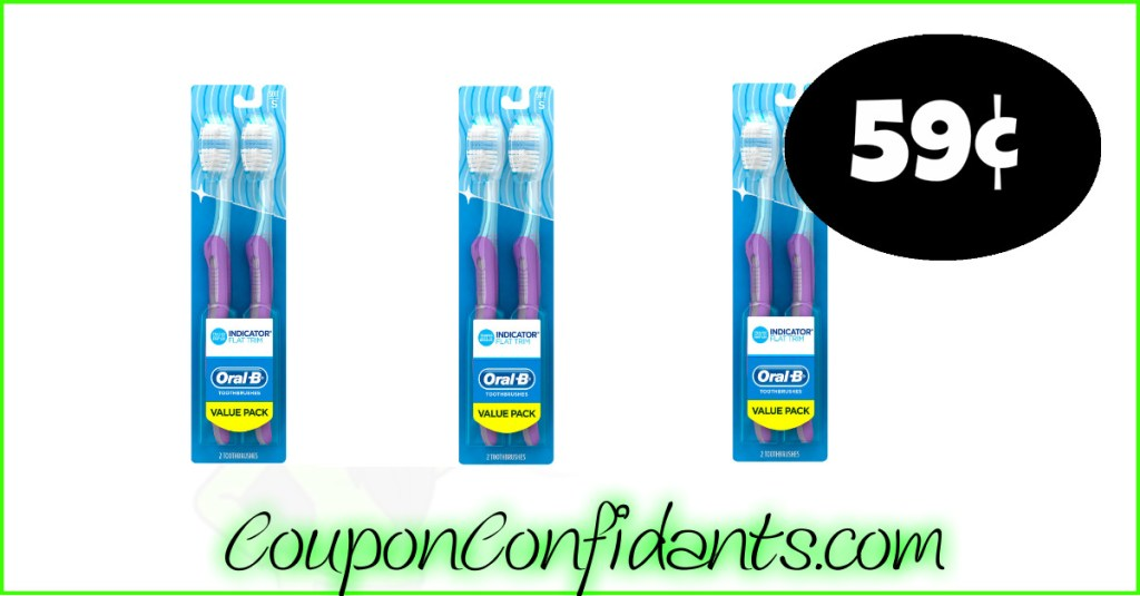 Oral-B Toothbrushes LOW price at Publix!
