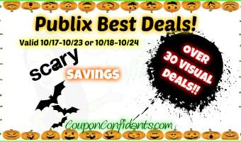 MASSIVE Best Deals List for Publix!!