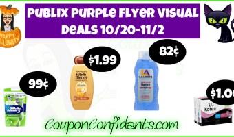 Publix Purple Flyer Oct 20 – Nov 2