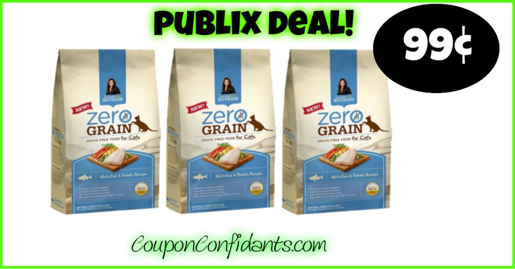 Rachael Ray Dry Cat Food $0.99 at Publix!