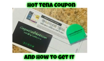 How to get the HOT Tena Coupon!