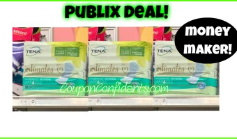 Tena Money Maker! Publix Deal!