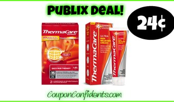 HOT Deal on Thermacare at Publix!!