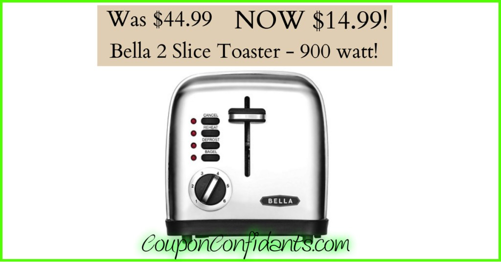 Toaster normally almost $45 NOW just $14.99!