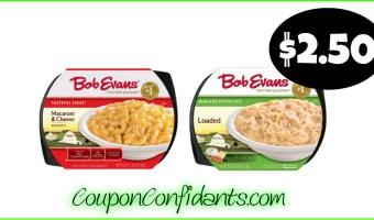 Bob Evans Sides $2.50 at Food Lion! (Same deal at MANY stores!)