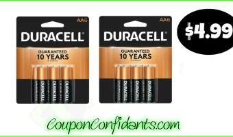 Duracell Batteries as low as $4.99! – Publix Deal