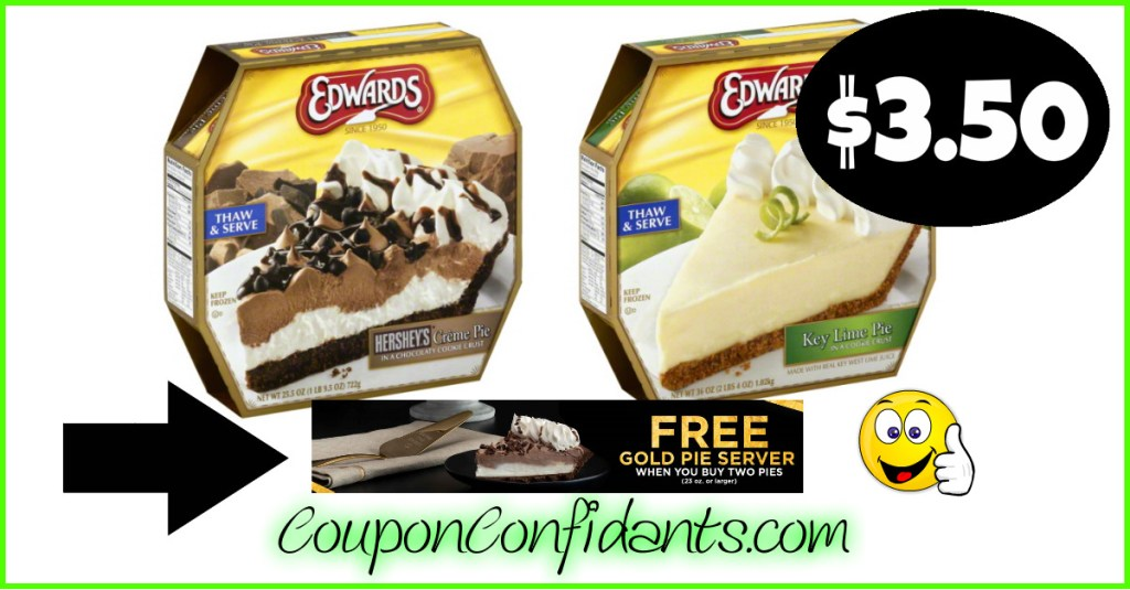 Oh MY!! FREE gold Pie Server and Cheap pies at Publix, Winn Dixie and Bilo!