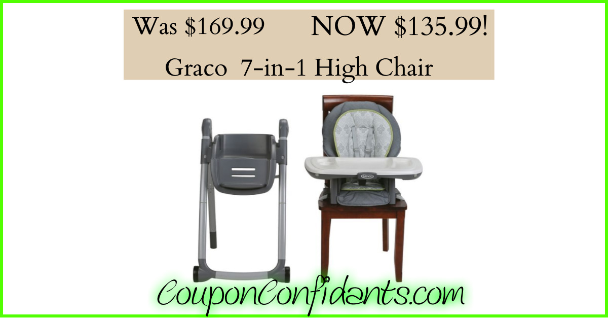 graco high chair coupon computer chairs target 7 in 1 convertible only 139 99 confidants