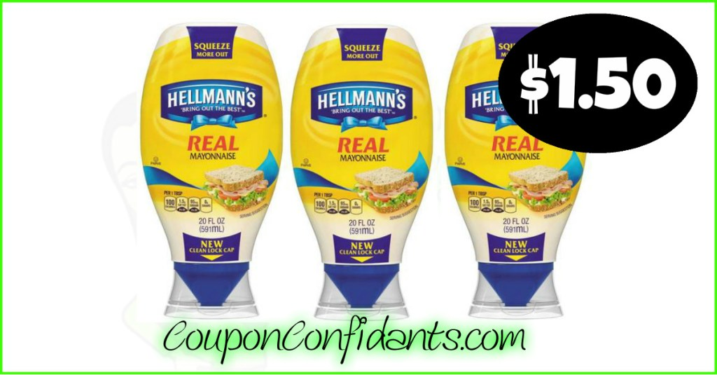 Yes! Hellmann's Mayo Only $1.50