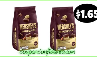 Hershey's Nuggets only $1.65 at Publix !YUM!