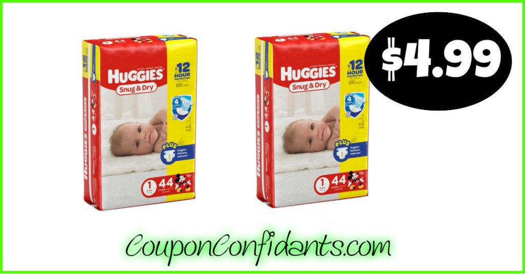 Huggies Diapers $4.99 at Publix! (Anyone can do it!)