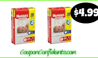 $4.99 Diapers at Food Lion! GREAT Price!