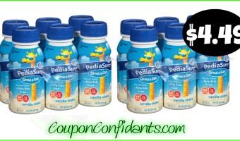 Pediasure Shakes $4.49 -Triple Stacked Deal at Publix!