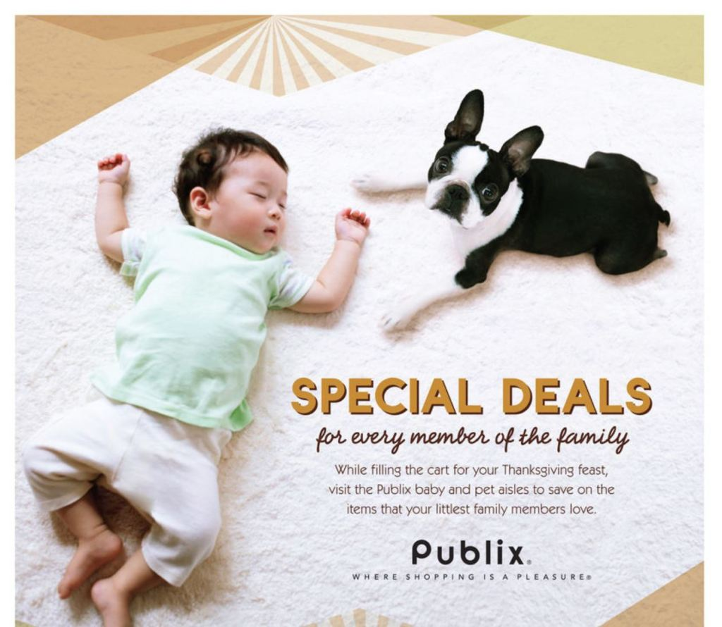 NEW Pet and Baby Deals for Publix!