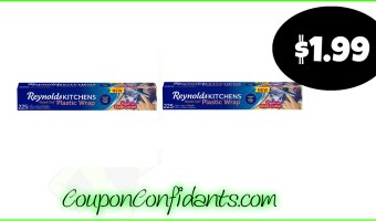 Reynolds Quick Cut Wrap only $1.99 at Publix!