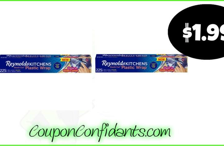 Reynolds Quick Cut Wrap only $1.99 at Publix!