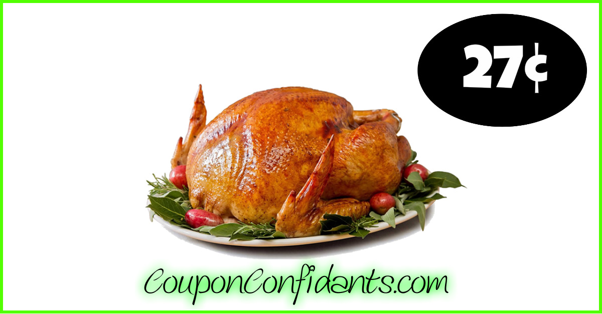27 Per Lb Frozen Turkey At Food Lion Lowest Price So Far