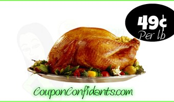 Turkey Sale at Publix!! Get ready to feast!