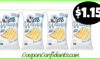 Cape Cod Waves Chips only $1.15 at Publix! YUM!