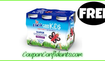 FREE Lala Kids Smoothie 6 pack at Publix! WOW!