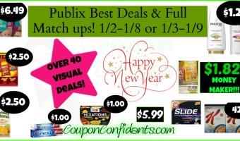 Publix Best Deals & FULL Match ups! Jan 2 – 8 or Jan 3 – 9