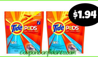 $1.94 Tide Pods at CVS!! HOT DEAL!