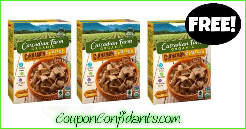 FREE Cascadian Farm Cereal at Publix! WOW!