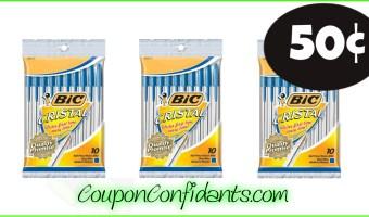 50¢ Bic Pens at Publix!