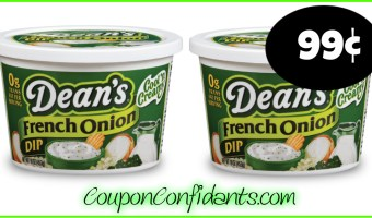 99¢ each for Dean's Dips at Target!