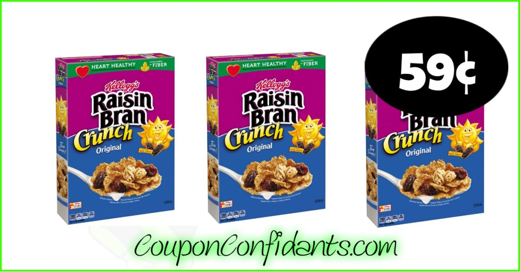 59¢ Raisin Bran at Publix! WOW!