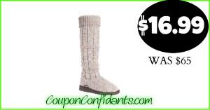 Muk Luk's Boots only $16.99 (Originally $65!)