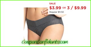 NICE Sale on Panties at Kohls! HURRY!