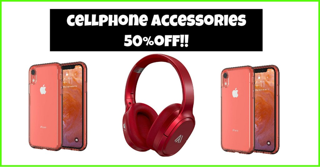 NEW Sale!! 50% OFF case, headphones, and MORE!