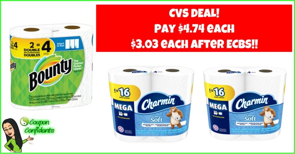 NICE Price on Paper Goods at CVS!