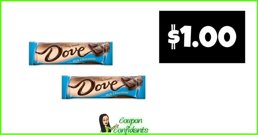 $1 Dove Bars at CVS!