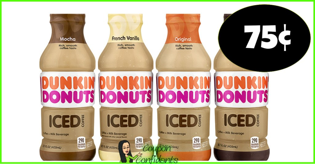 $0.75 Dunkin' Donuts Ready to Drink at CVS!!