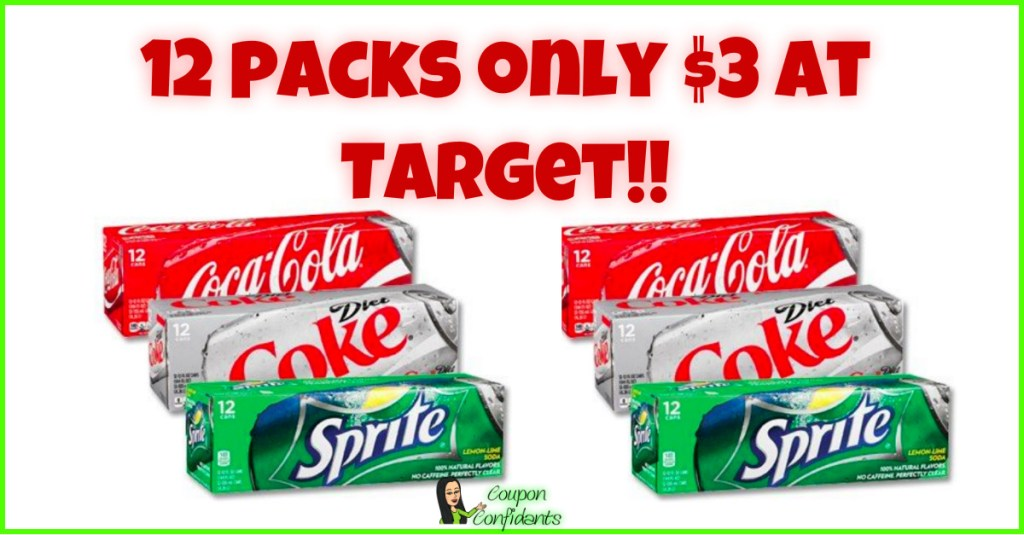 $3 for Coca-Cola Products at Target!